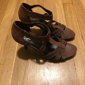 Donald Pliner Abria Stilettos size 8 1/2